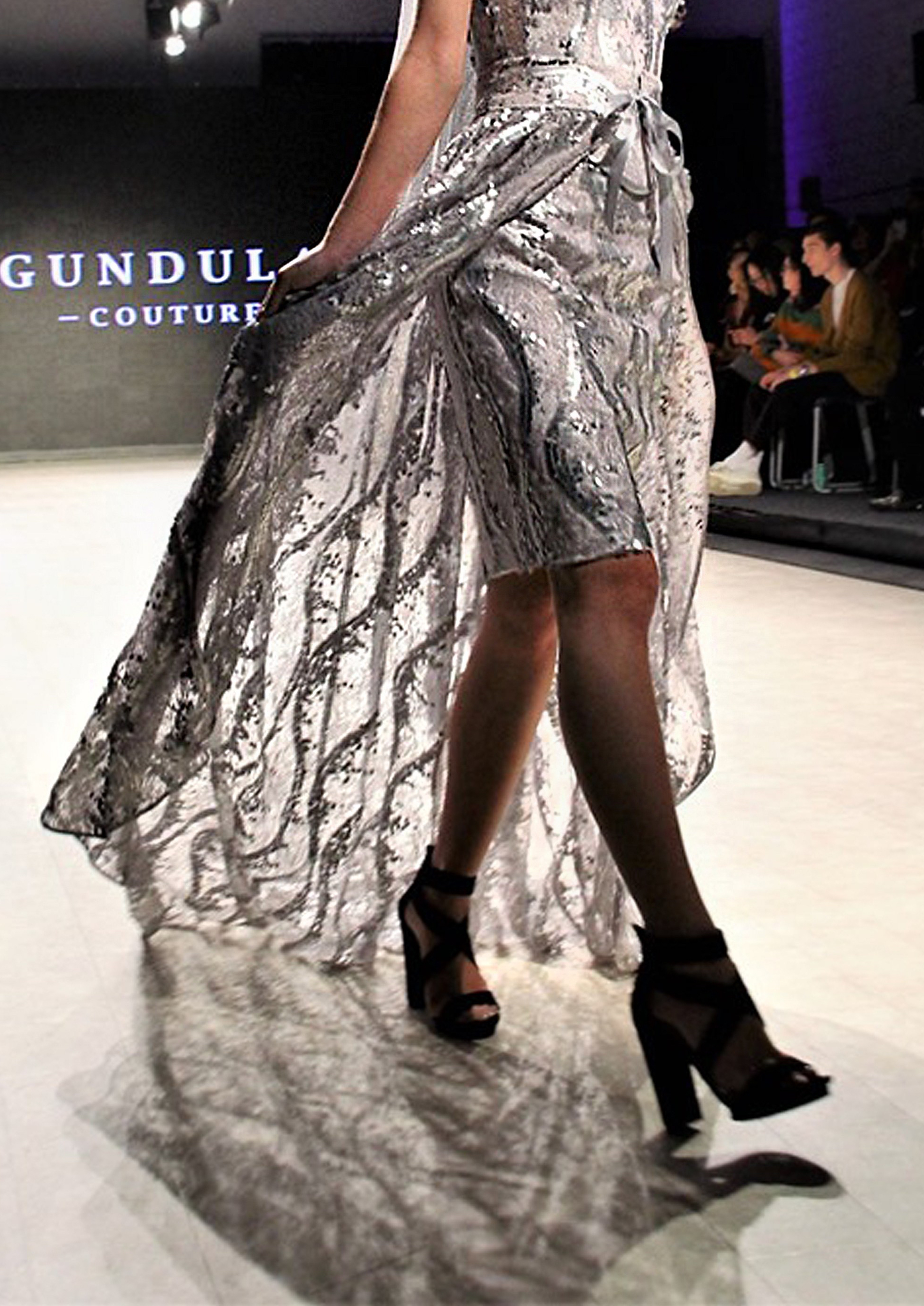 Photo by Mac C Yeah - Edits by Gundula Hirn - Model Laura Liu walking Vancouver Fashion Week Runway