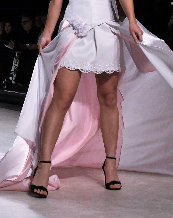 Photo by Max C Yeah - Vancouver Fashion Week Runway - Gundula Couture Garment On Supplied Model